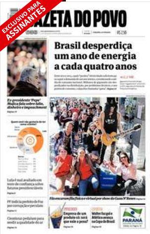 Gazeta do Povo 28072016